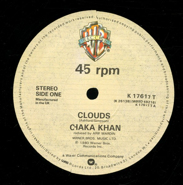 Chaka Khan - Clouds Lyrics | Musixmatch