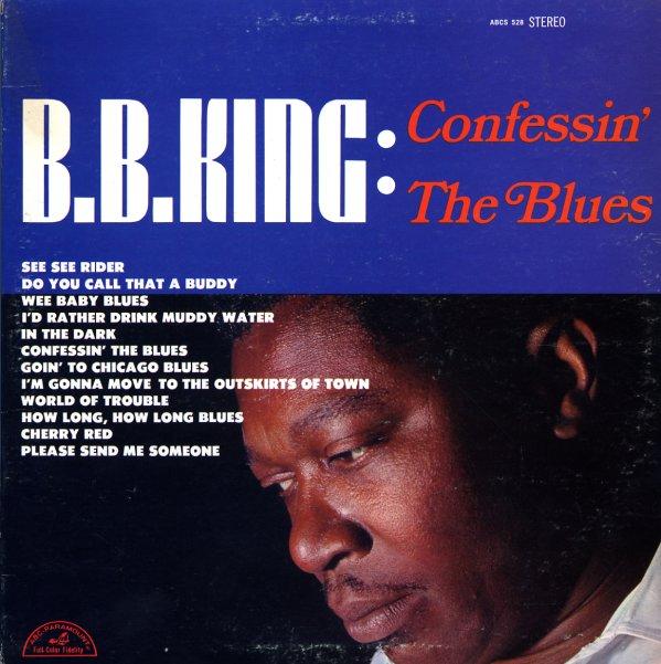 Bb King Confessin The Blues Lp Vinyl Record Album