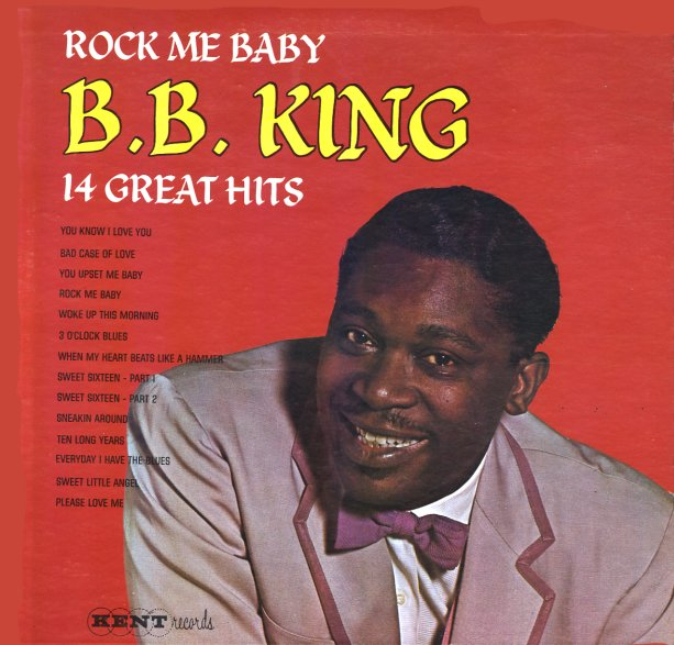 Bb King Rock Me Baby 14 Great Hits Lp Vinyl Record
