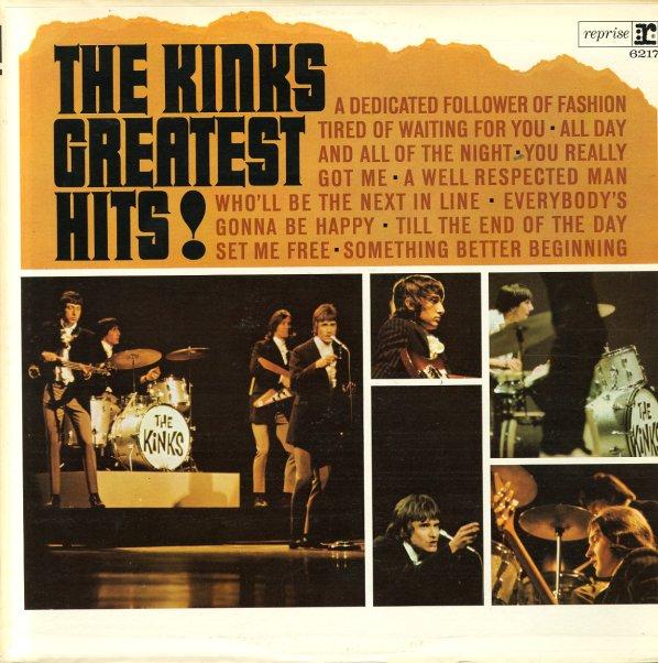 Kinks Kinks Greatest Hits Lp Vinyl Record Album