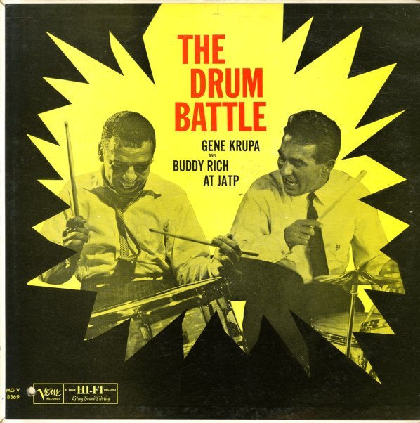 Gene Krupa Amp Buddy Rich Drum Battle At Jatp Lp Vinyl