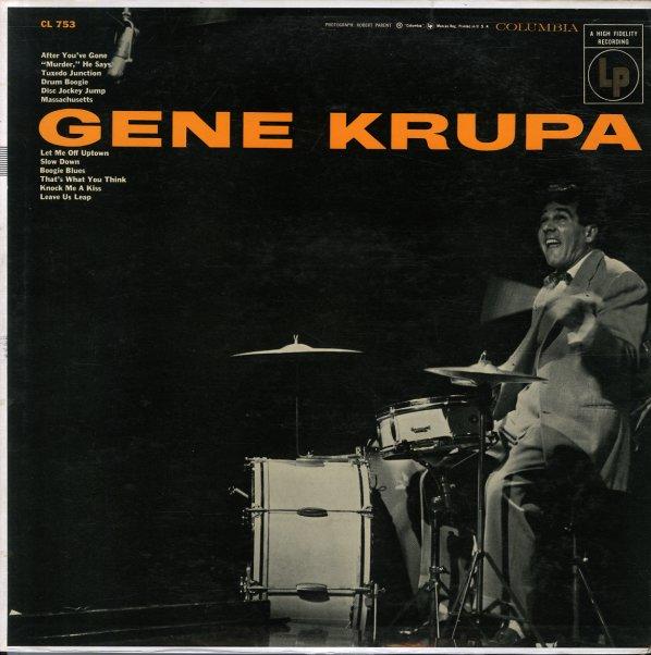 Gene Krupa Gene Krupa Columbia Lp Vinyl Record Album