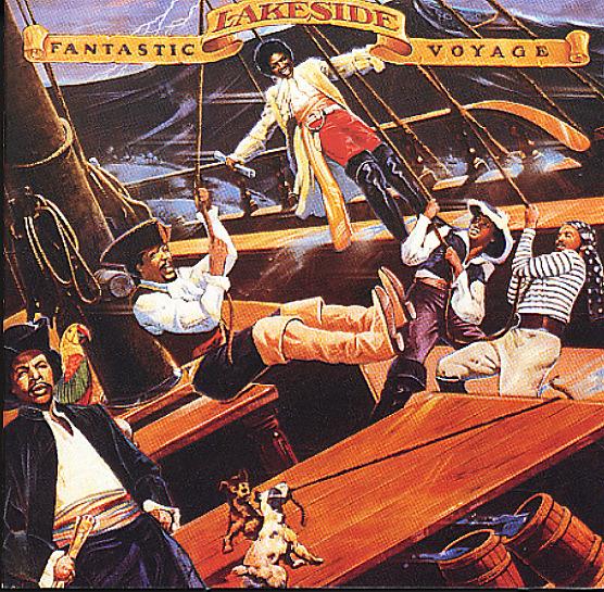 Lakeside Fantastic Voyage Lp Vinyl Record Album