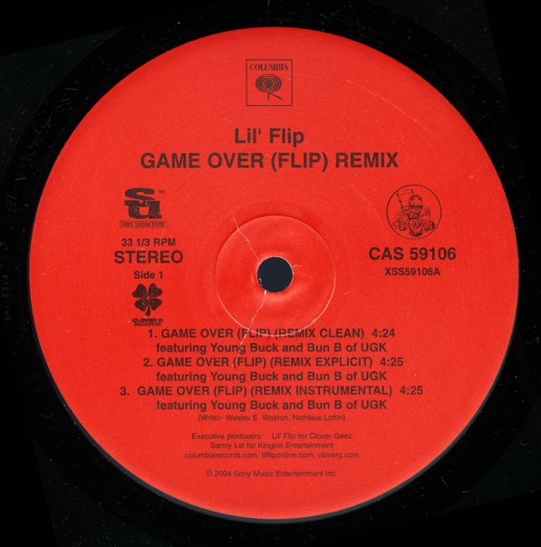 Game Over Remix (clean, explicit, inst, lucky nights version)/4 DJ Screw  (clean, screwed & chopped explicit, inst)