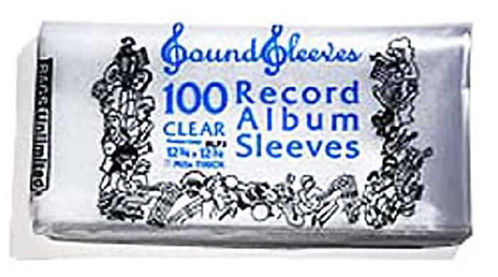 Lp Plastic Sleeves 100 3mil Plastic Lp Sleeves Record Care