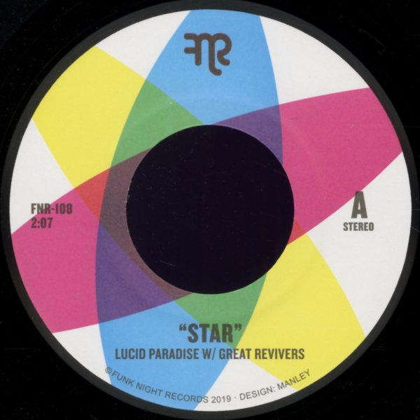 Lucid Paradise with The Great Revivers : Star/Get On Up (7-inch, Vinyl  record)