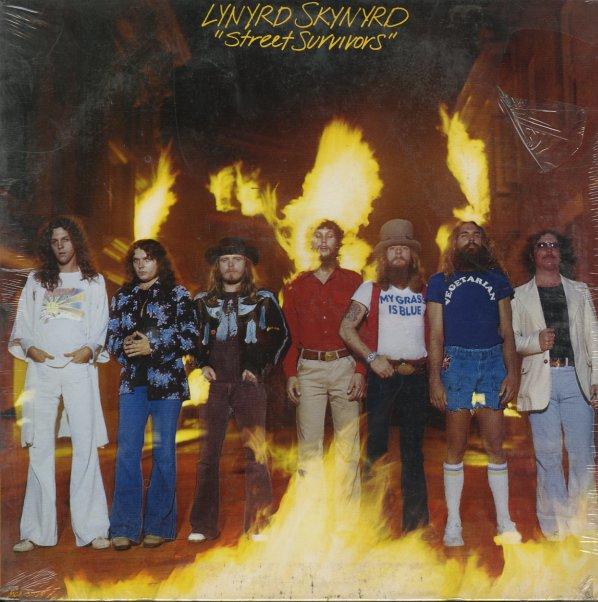 Lynyrd Skynyrd Street Survivors Flame Cover Lp Vinyl