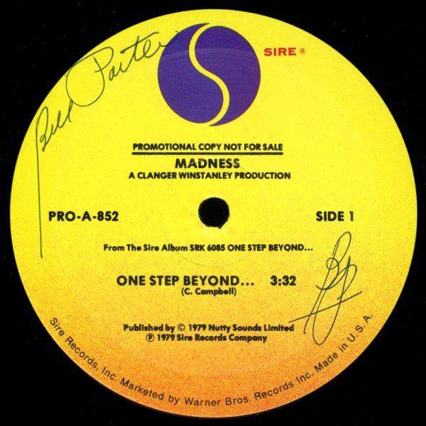 Madness One Step Beyond My Girl Madness 12 Inch Vinyl