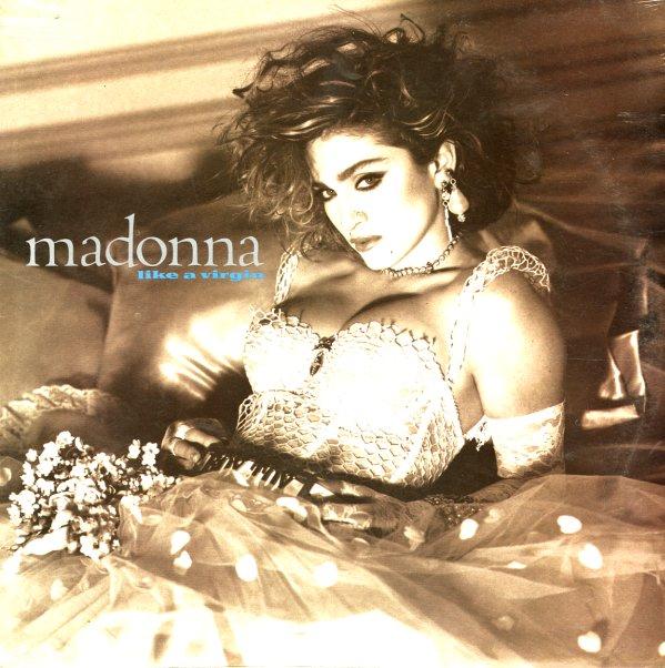 Madonna Like A Virgin Lp Vinyl Record Album Dusty