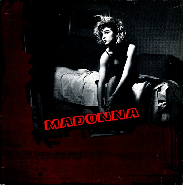 madonna like a virgin extended dance remix double a side single 12 inch vinyl record. Black Bedroom Furniture Sets. Home Design Ideas