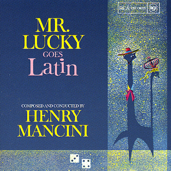 Henry Mancini Mr Lucky Goes Latin Lp Vinyl Record
