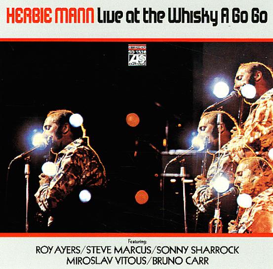 Herbie Mann Live At The Whiskey A Go Go Lp Vinyl