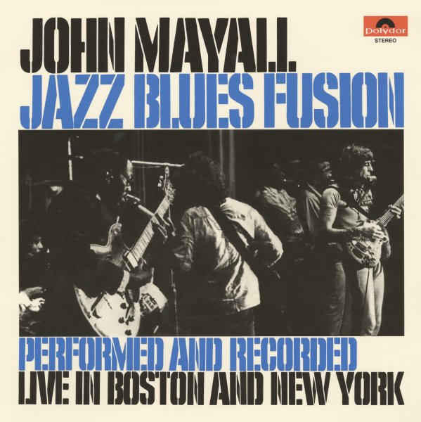 John Mayall Jazz Blues Fusion Lp Vinyl Record Album
