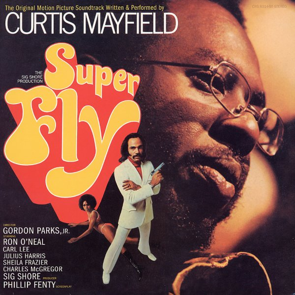 Curtis Mayfield Superfly Die Cut Gatefold Cover Lp