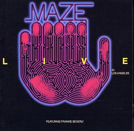 Maze Live In Los Angeles Lp Vinyl Record Album