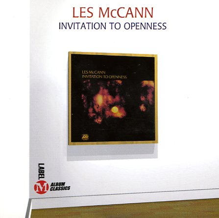 Les McCann : Invitation To Openness (Label M pressing) (CD) -- Dusty Groove is Chicago's Online ...