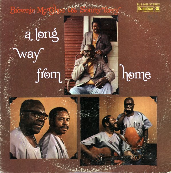 Brownie McGhee & Sonny Terry : Long Way From Home (LP, Vinyl record