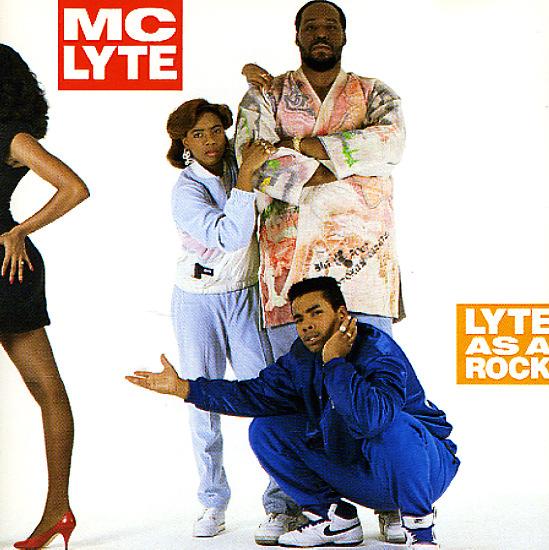 Mc Lyte Lyte As A Rock Lp Vinyl Record Album Dusty