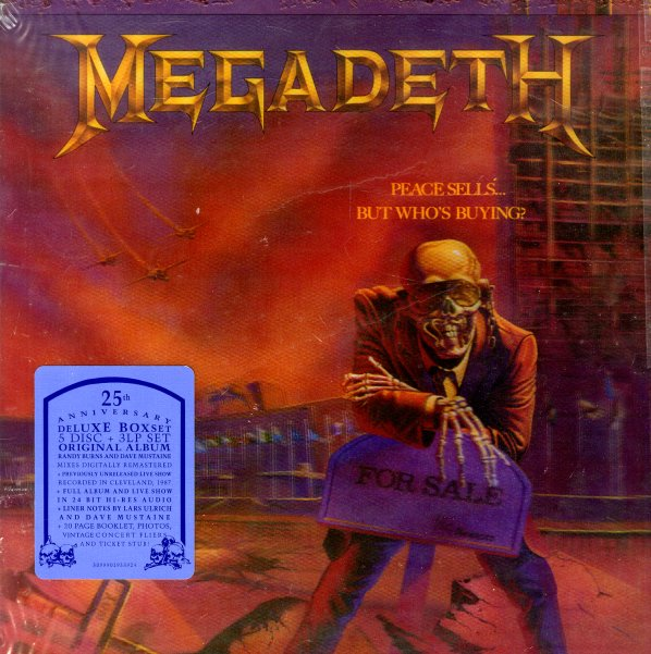 Megadeth : Peace Sells But Who's Buying (25th Anniversary ...