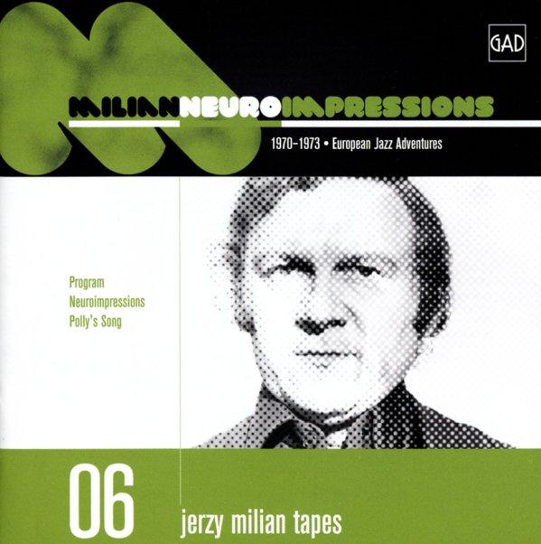 Jerzy Milian : Neuroimpressions – 1970 to 1973 (CD ...