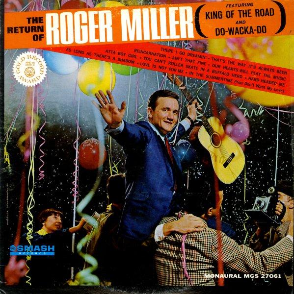 Roger Miller Return Of Roger Miller Lp Vinyl Record