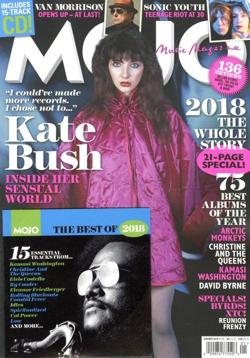 Mojo : Issue 302 – January 2019 (with bonus CD) (Magazine) -- Dusty