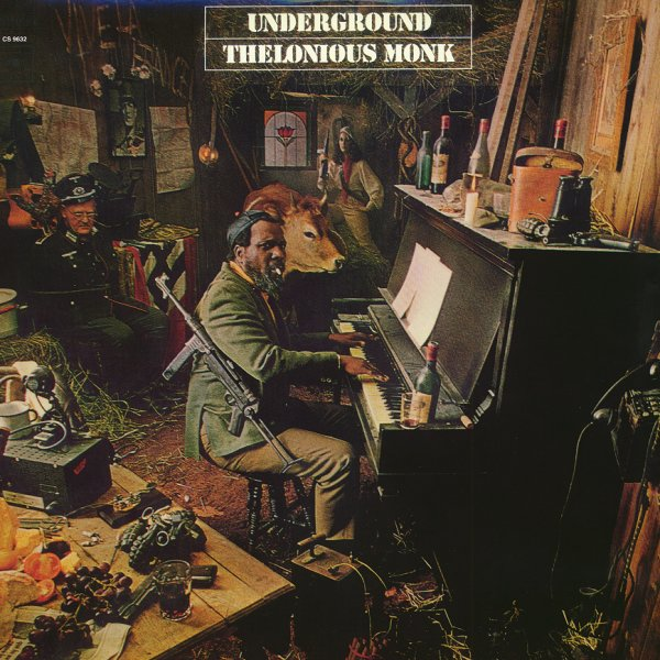 thelonious monk underground lp vinyl record album dusty groove is chicago 39 s online. Black Bedroom Furniture Sets. Home Design Ideas