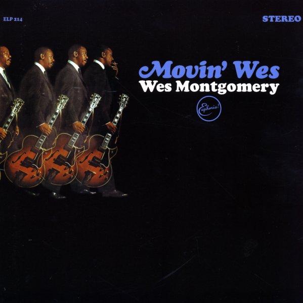 Wes Montgomery : Movin Wes (LP, Vinyl record album) -- Dusty Groove