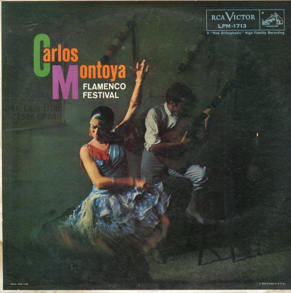 Carlos Montoya : Flamenco Festival (LP, Vinyl record album