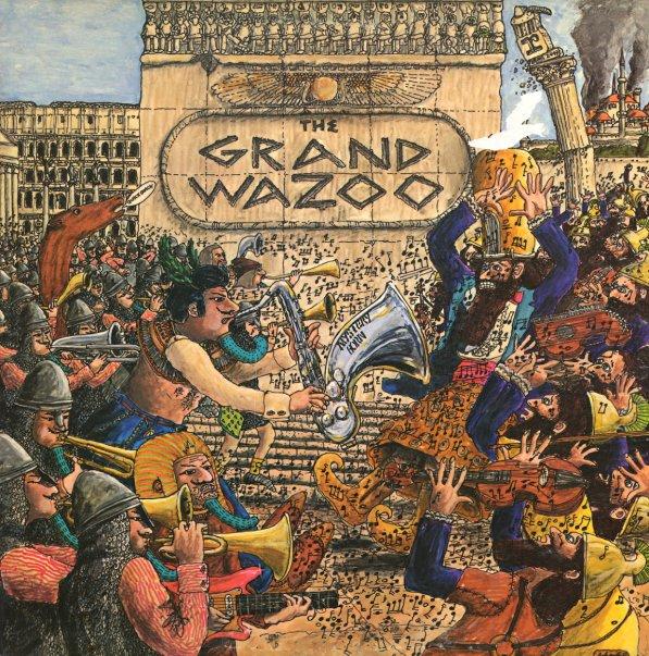 Mothers Frank Zappa Grand Wazoo Lp Vinyl Record