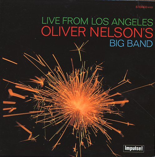 Oliver Nelson S Big Band Live From Los Angeles Lp
