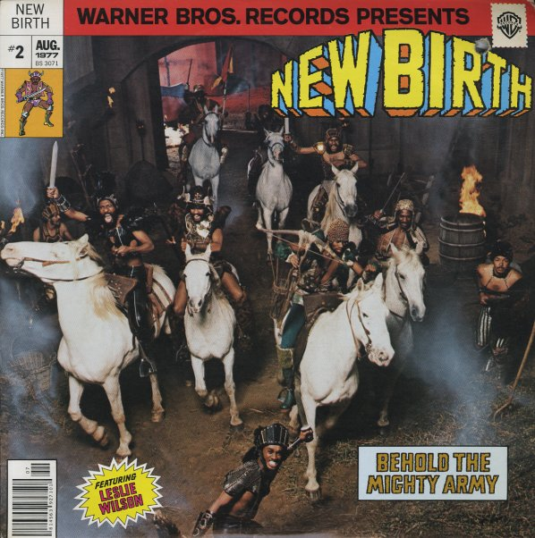 New Birth : Behold The Mighty Army (LP, Vinyl Record Album