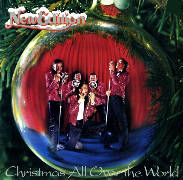 New Edition Christmas All Over The World Lp Vinyl