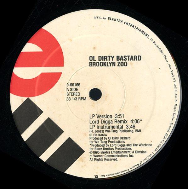 Ol Dirty Bastard : Brooklyn Zoo (LP, Lord Digga Rmx, LP
