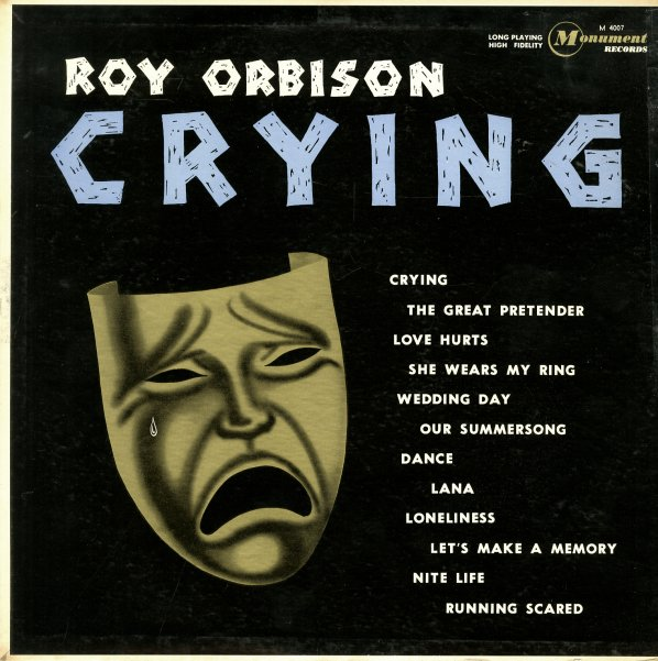 Roy Orbison Crying Lp Vinyl Record Album Dusty Groove Is Chicago 39 S Online Record Store