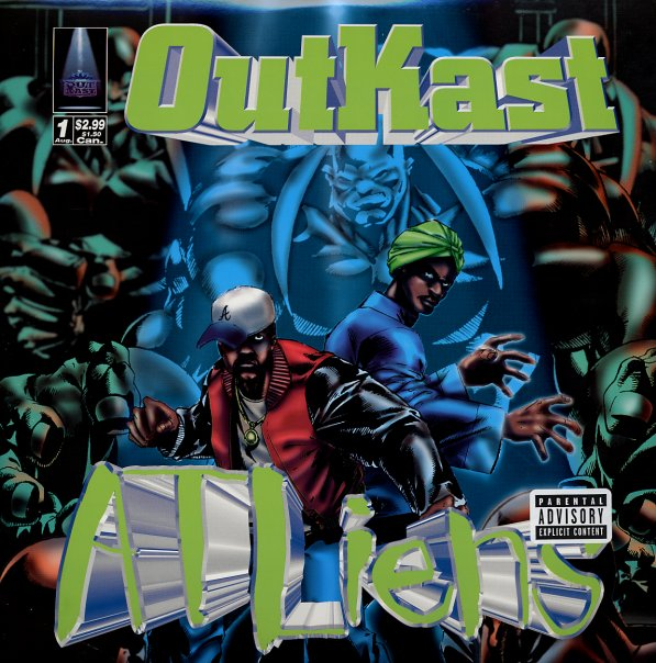 Outkast : ATLiens (CD) -- Dusty Groove is Chicago's Online ... | 547 x 553 jpeg 161kB