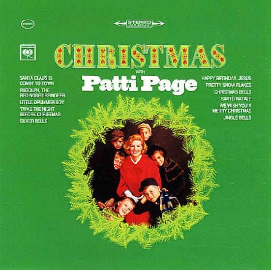 Patti Page Christmas With Patti Page Columbia Cd