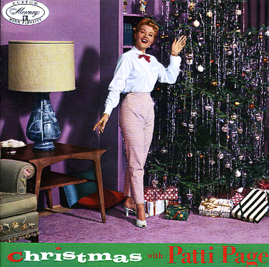 Christmas Album Cover Art.Christmas With Patti Page Mercury With Bonus Tracks
