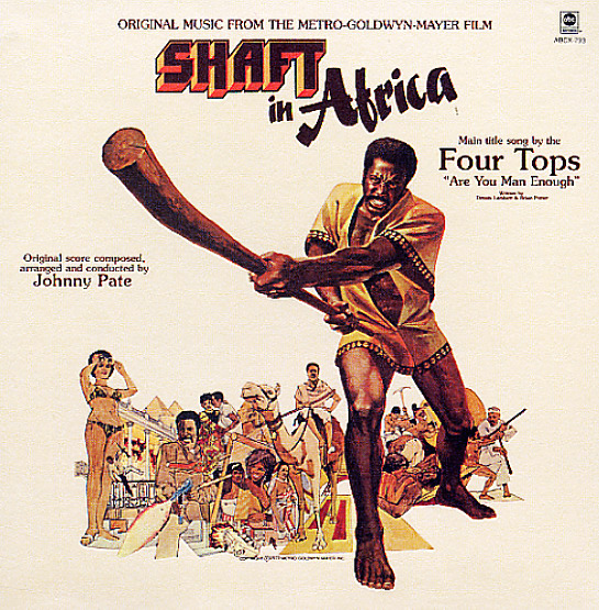 Johnny Pate Four Tops Shaft In Africa Lp Vinyl Record