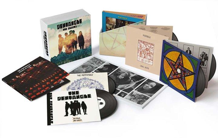 Pentangle Pentagle The Albums 1968 To 1972 Pentangle