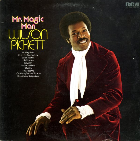 Wilson Pickett Mr Magic Man Lp Vinyl Record Album
