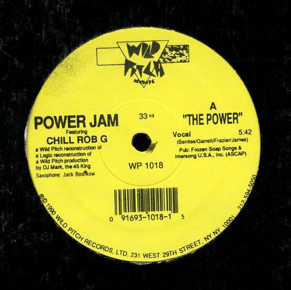Power Jam feat  Chill Rob G : Power (voc, inst, acapella) (12-inch