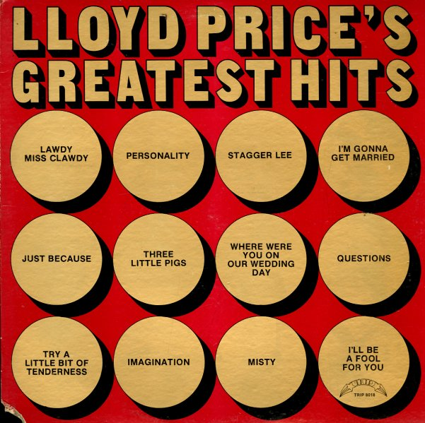 lloyd price lloyd price 39 s greatest hits lp vinyl record album dusty groove is chicago 39 s. Black Bedroom Furniture Sets. Home Design Ideas