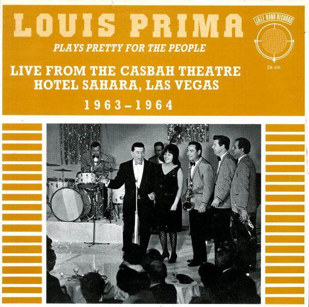 Louis Prima Live From The Casbah Theater Hotel Sahara