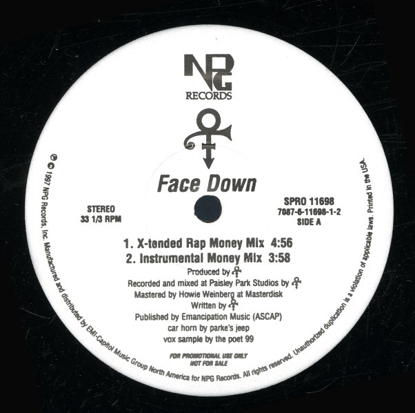 Prince Face Down X Tended Rap Money Mix Inst Money Mix