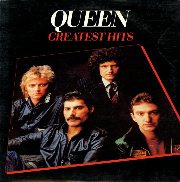 Queen Greatest Hits Elektra Pressing Lp Vinyl Record