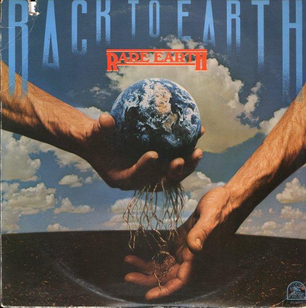 Rare Earth Back To Earth Lp Vinyl Record Album