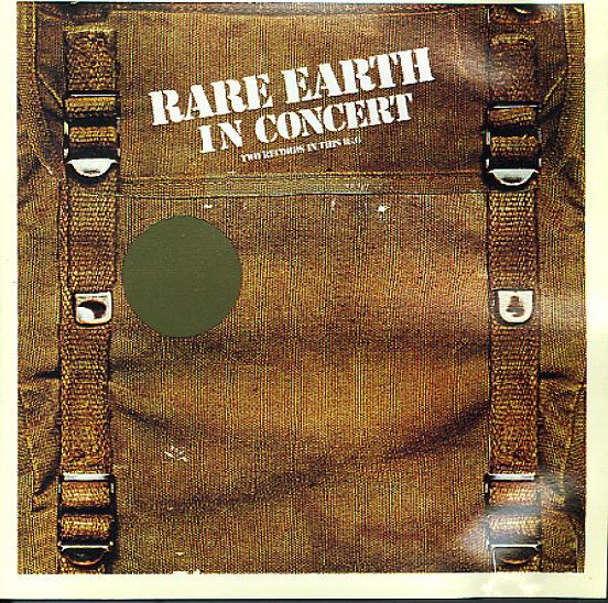 Rare Earth Rare Earth In Concert Lp Vinyl Record Album