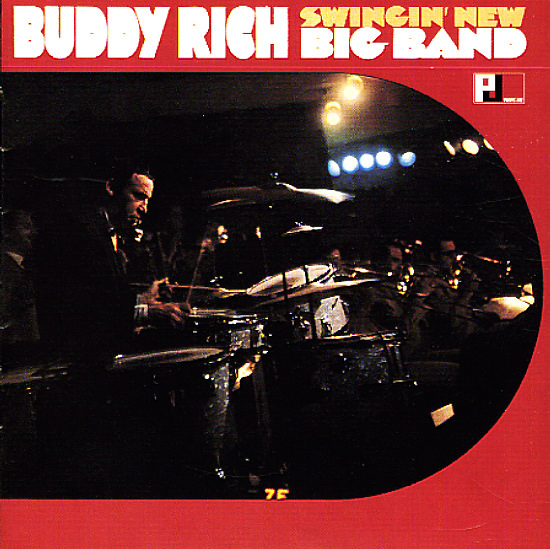 Buddy Rich Swingin New Big Band Lp Vinyl Record Album