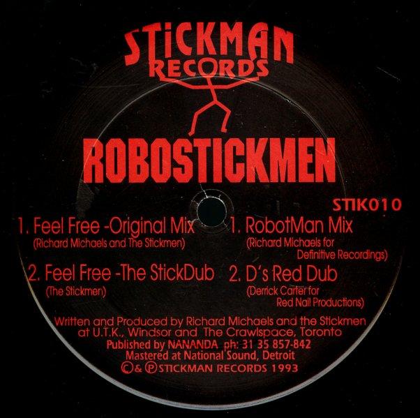 Feel Free (orig, stickdub, robotman mix, d's red dub)